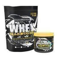 Whey Hardcore, 2,27 kg + Triple Creatine Hardcore kaupan päälle, Chained Nutrition