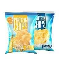 2 x Quest Protein Chips, 32 g, Lyhyt päiväys, Quest Nutrition
