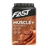 Muscle+, 900 g, Strawberry, FAST Sports Nutrition