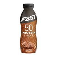 Protein Shake 50, 500 ml, Chocolate, FAST Sports Nutrition