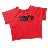 Classic Workout Top, red, Gorilla Wear