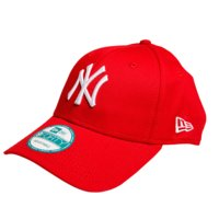 940 League Basic, New York Yankees, Scarlet, One Size, New Era
