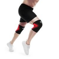 Rx Knee Support 3 mm, Black/Red, Rehband
