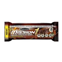 Mission1 Baked Protein Bar, 60g, Chocolate Brownie