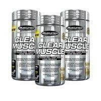 3 x Clear Muscle
