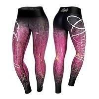 Demonia Legging, Pink/Black, Anarchy
