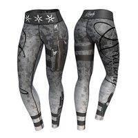 Vigilante Legging, Gray/Black, XL