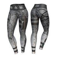 Vigilante Legging, Gray/Black
