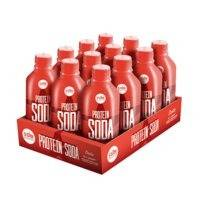 12 x Protein Soda, 375 ml, Star Nutrition