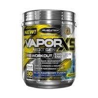 Vapor X5 Next Gen, 30 servings, Blue Raspberry, MuscleTech