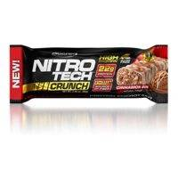 Nitro Tech Crunch Bar, 65g, Chocolate Chip Cookie Dough, MuscleTech