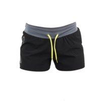 Genetix Shorts, Musta, Naisten