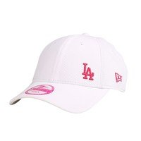 9FORTY Womens Diamond Era, Los Angeles Dodgers, White/Pink One size, New Era