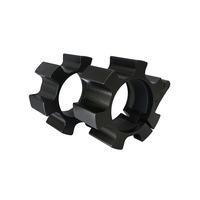 Painotangon lukko Alumiinia 50 mm, Musta, Master Fitness