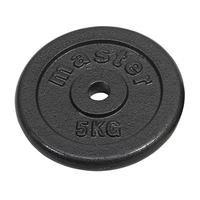 Viktskiva, 25 mm, 10 Kilo, Master Fitness