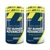 2 x Fat Burner Advanced, 120 tabs, API