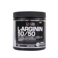 L-Arginin 50/50, 300 g, Natural, Delta Nutrition