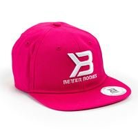 Womens Flat Bill Cap, Hot Pink, OS, Better Bodies Women