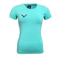 Anna Function T-shirt, Oceangreen/White, L, OMPU Wear