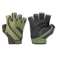 HA Men's pro glove , Black/Green, Harbinger