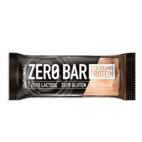 ZERO BAR, 50 g, Chocolate Caramel, Biotech USA