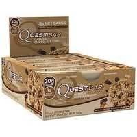 12 x Quest Bar, 60g, Oatmeal Chocolate Chip kort datum, Quest Nutrition