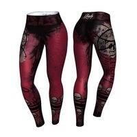 Purgatory Leggings, Red/Black, L, Anarchy