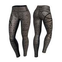 Mamba Leggings, Gray/Black, XL, Anarchy