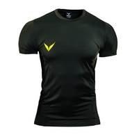 Knut Function T-shirt, Darkgreen/Yellow, L, OMPU Wear