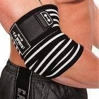 Elbow Wraps Pro, Black/White