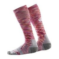 Essentials Womens Comp Socks, Strata, Skins