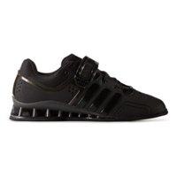 AdiPower, Black/Black, Strl 45 1/3, Adidas Shoes