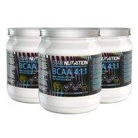 3 x BCAA 4:1:1 90%, 400 g, Star Nutrition