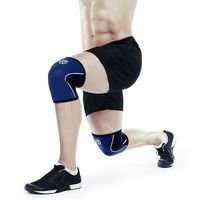 Rx Knee Support 5mm, Navy, M, Rehband