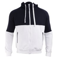 GNTX Zip Hood, Navy/White