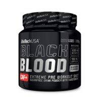 Black Blood CAF+, 300 g, Blueberry, Biotech USA