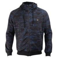 Star Premium WCT Zip Hood, Camo/Navy, XL, Star Nutrition Gear