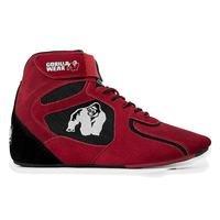 Chicago High Tops, Red/Black, 38, Gorilla Wear