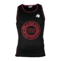 Kenwood Tank Top, Black/Red, L, Gorilla Wear