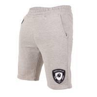 Los Angeles Sweat Shorts, Gray, M, Gorilla Wear