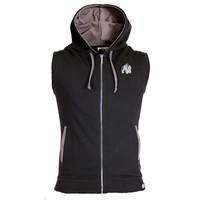 Springfield S/L Zipped Hoodie, Black, XL, Gorilla Wear