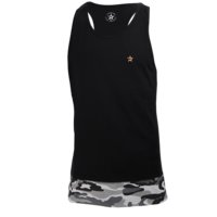 Star Premium Tank Top, Camo/Black, L, Star Nutrition Gear