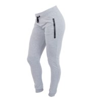 Star Premium Women Sweatpants, Grey, L, Star Nutrition Gear