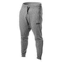Harlem Zip Pants, Greymelange, Better Bodies Men