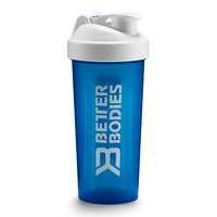 Fitness Shaker 600 ml, Strong Blue, Better Bodies Women