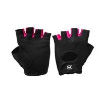BB Womens Training Gloves, Black/Pink, Better Bodies Women
