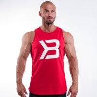 Brooklyn Tank, Bright Red, Better Bodies Men