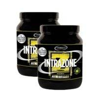 2 x IntraZone, 600 g, Green Apple Limited Edition, SUPERMASS NUTRITION