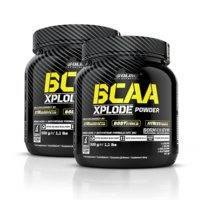 2 x BCAA Xplode, 500 g, Mojito Limited Edition, Olimp Sports Nutrition