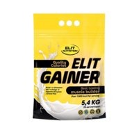 ELIT GAINER - Lactose free, 5400 g, Chocolate